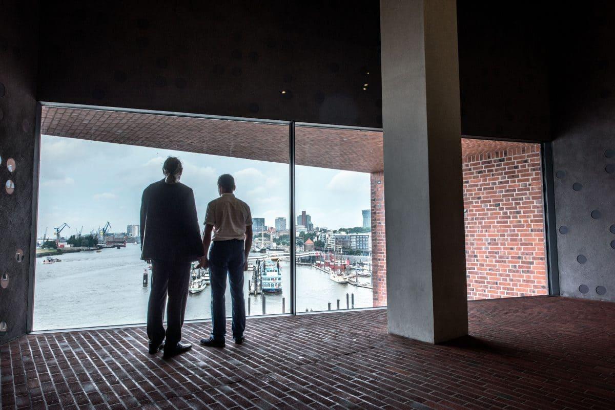 Wolfgang Henze und Dimitri Prudowski erinnern sich noch gut an die Bauphasen zwischen 2007 und 2010.