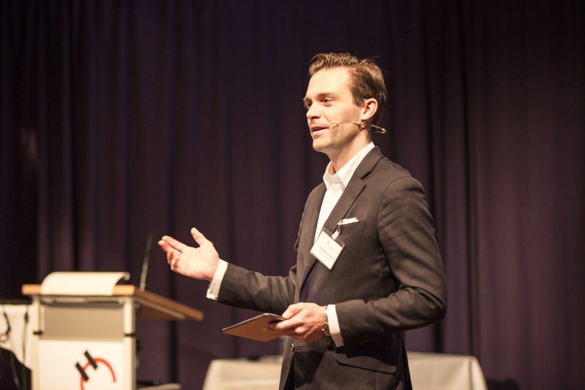 Commercial Director der Holcim (Deutschland) GmbH, eröffnete das 11. Holcim Bau-Forum.