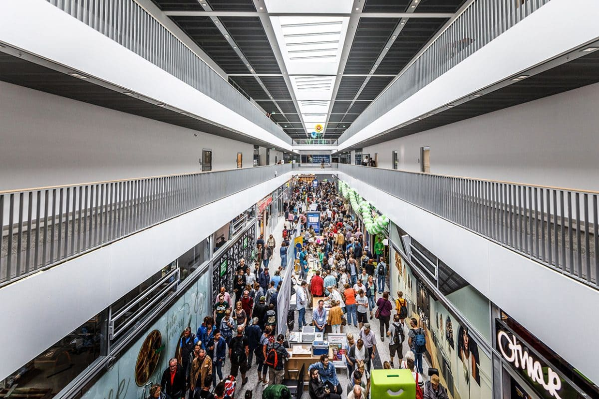 Über 66.000 Reisende passieren den Bahnhof in Münster täglich.
