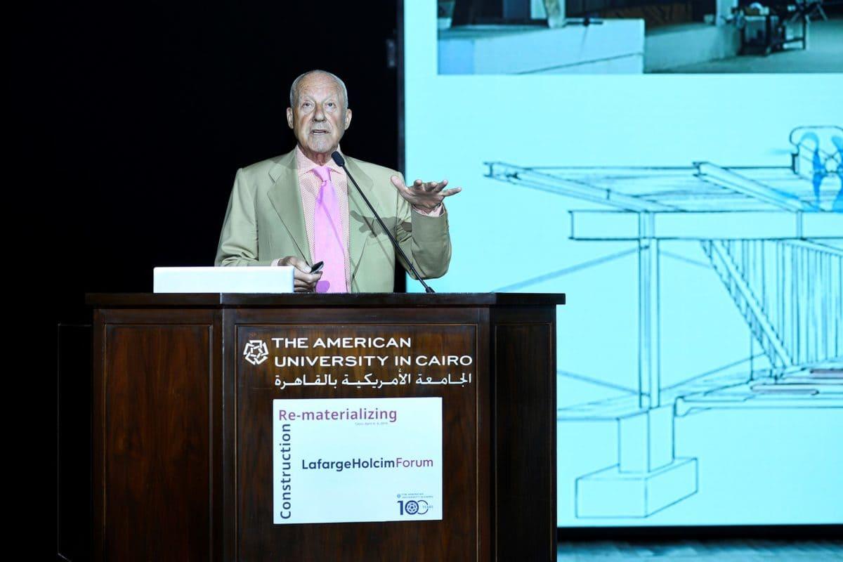 Der weltweit bekannte Architekt aus England war einer der Keynote-Speaker.
