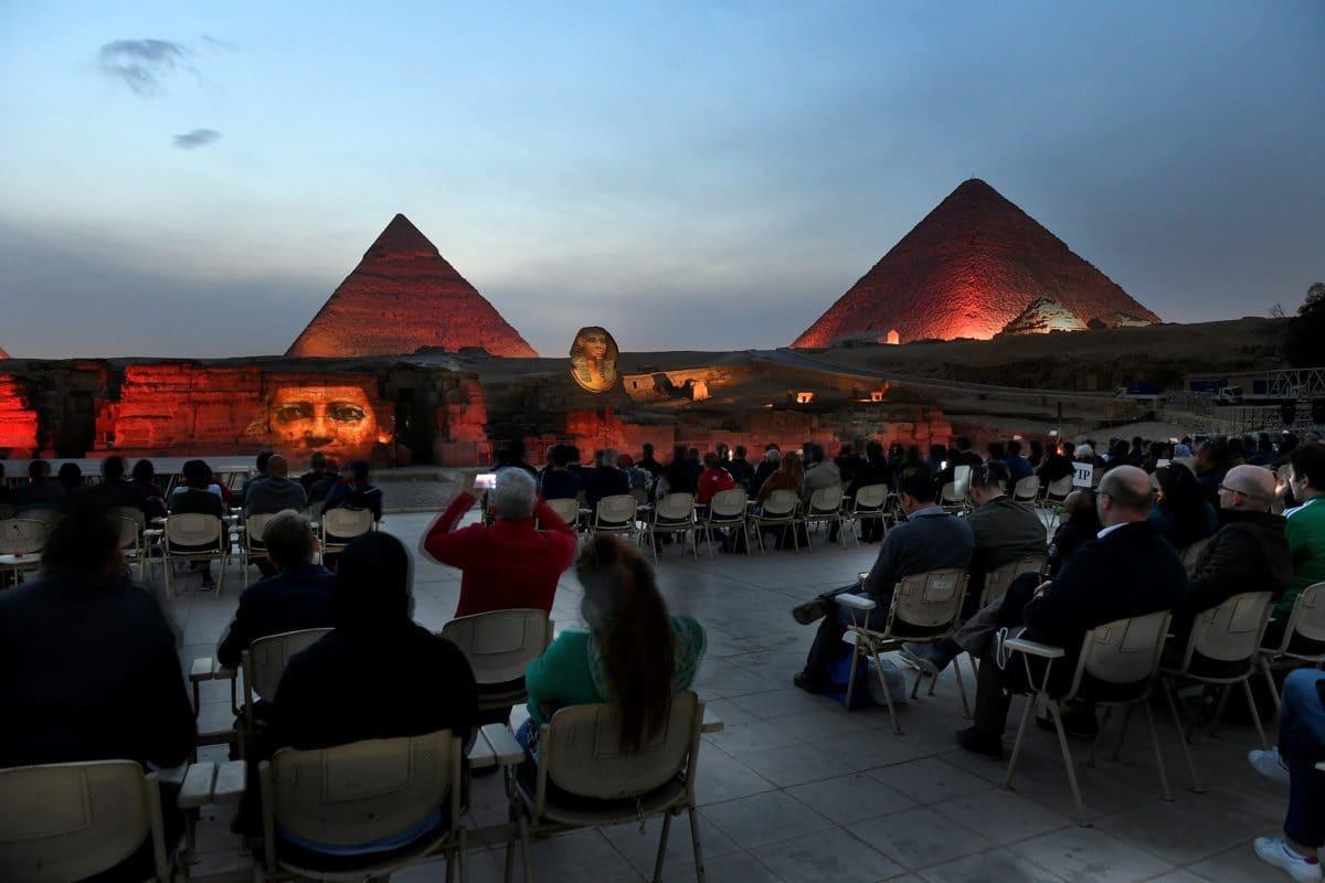 Die wichtige Rolle traditioneller Baumethoden und -materialien wurde anhand der Pyramiden in Ägypten unterstrichen.