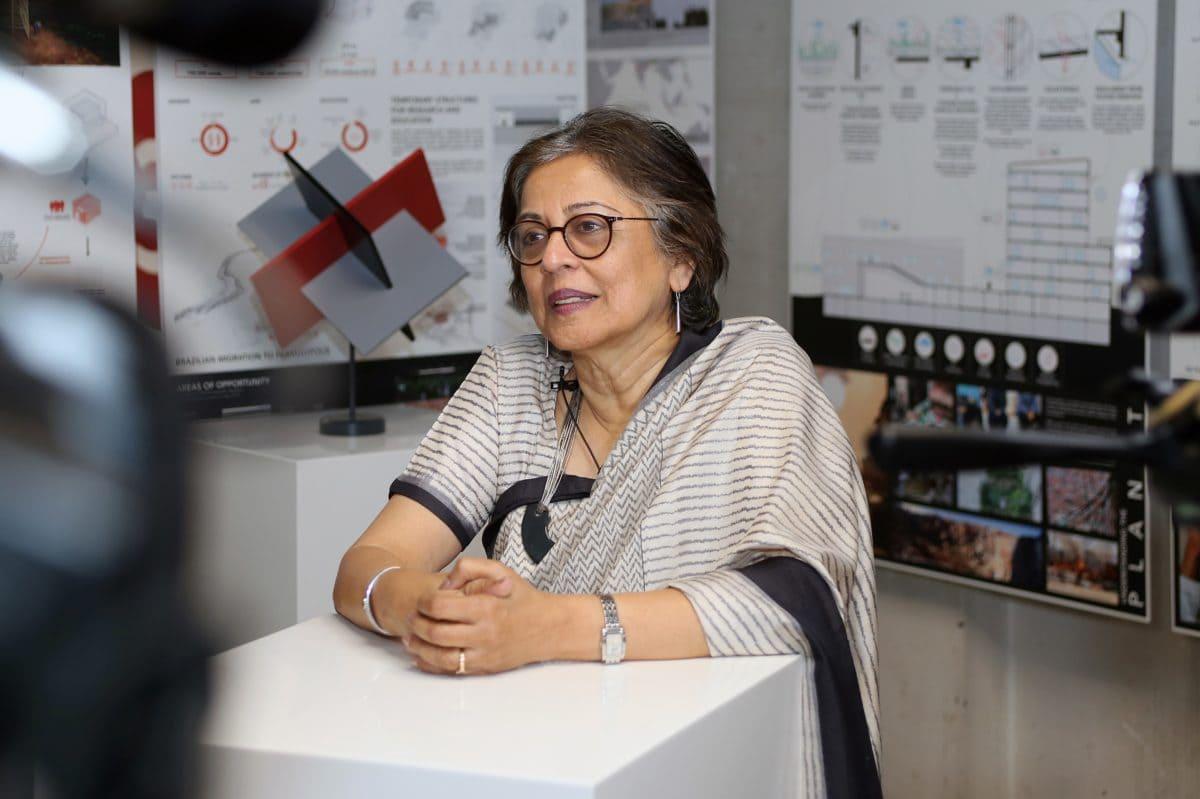 Die Architektin aus Indien schätzt die LafargeHolcim Awards unter anderem dafür, dass sie den Teilnehmern zu Glaubwürdigkeit und Bekanntheit verhelfen.