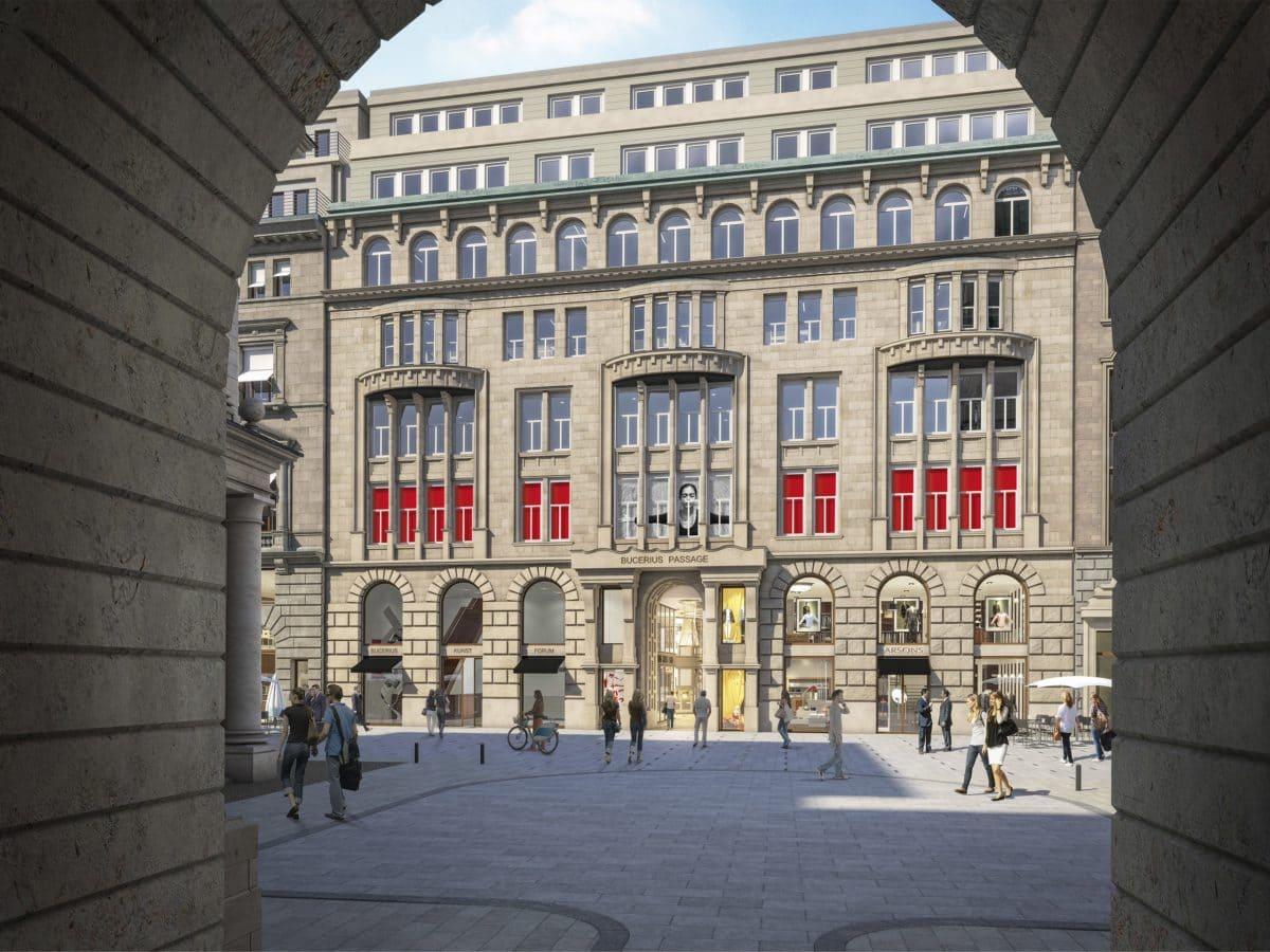 Nur wenige Meter vom alten Standort entfernt, in der Mitte des Gebäudekomplexes, eröffnete das Bucerius Kunst Forum die neuen Räume am Alten Wall bereits im Sommer 2019.
