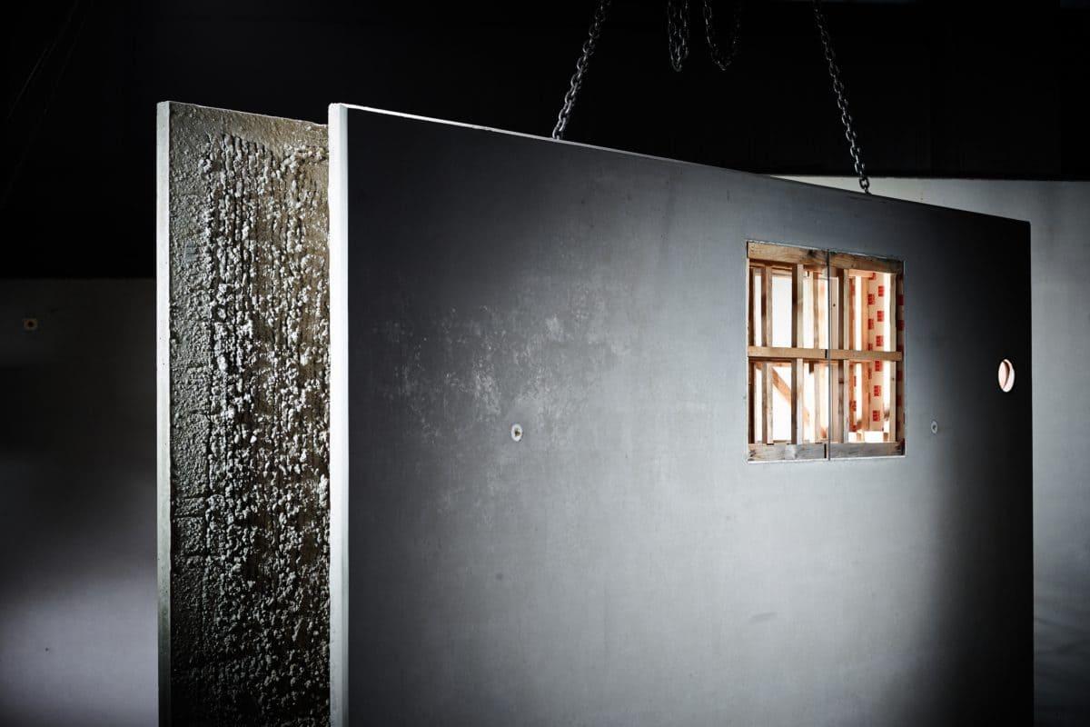 Die Firma B. Lütkenhaus setzt bei der Produktion der Betonfertigteile auf den Hochofenzement von Holcim.